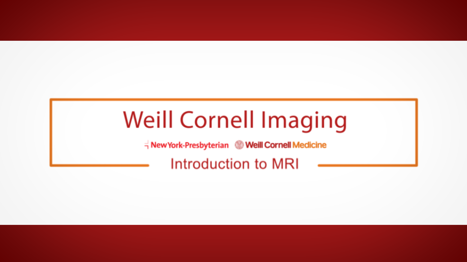 MRI: Improving the Patient Experience