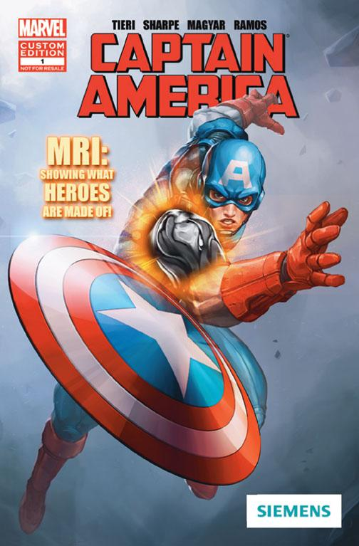 WCINYP Marvel Comic Book